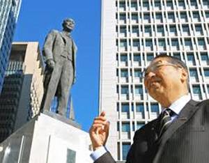 Masaru Inoue statue re-established